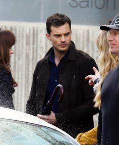 Pin for Later: 34 Sizzling Pictures of Jamie Dornan on the Set of Fifty Shades Darker