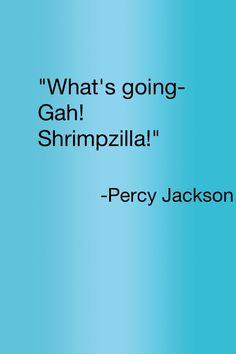 I present to you, Percy Jackson