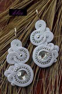 soutache wedding earrings