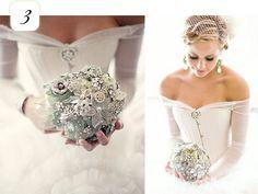 Off the shoulder wedding corset dress with sheer sleeves https://www.etsy.com/shop/joanshum