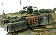 """The Modelling News: Done and """"Dusted"""" - Andy Finishes Meng's 35th Leopard 2A7 German Main Battle Tank (Part V)"""