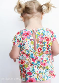 zippy top pattern | Craftiness is not optional