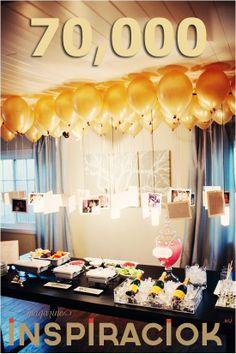 home party, memory, photo, toy-ballon