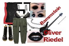 Oliver Riedel by slytheriner on Polyvore featuring Lola, River Island, RyuRyu, H&M, Dr. Martens and Riedel