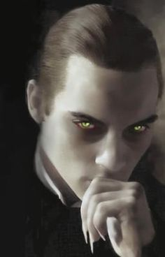 Why women are so attracted to vampires. This could be the Master vampire Art Vampire, Vampire Love, Gothic Vampire, Vampire Eyes, Dracula, Dark Side, Dark Fantasy, Fantasy Art, Monsters