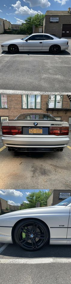 1991 BMW 850i Black Rims, The Struts, Carbon Fiber, Cars For Sale, Bmw, Exterior, Cars, Cars For Sell, Outdoor Rooms