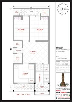 Elevation Plan, House Elevation, Plan Design, Layout Design, 20x30 House Plans, West Facing House, Glass Partition Designs, Open Baths, 2bhk House Plan