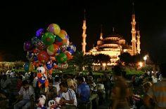 İstanbul'da  akşam saatleri ..