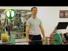 Rikki demonstates the barbell deadlift and talks about areas worked and proper spinal alignment during the lift Barbell Deadlift, Powerlifting Training, Bodybuilding Training, Program Design, Health And Wellbeing, Routine