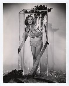 June Haver - Christmas 1940s (I may have this one already...)