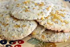 Warm and Chewy Ginger Orange Cookies #client #IBS #FODMAP #lowfodmap