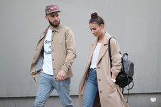 J'aime tout chez toi - French couple from Paris - Alice & js Matching Couple Outfits, Twin Outfits, Matching Couples, Outfits For Teens, Cute Couples, Summer Outfits, Stylish Couple, Fashion Couple, Street Style