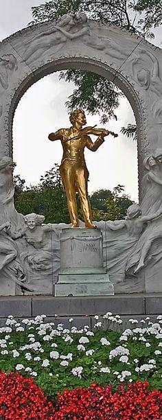 Johann Strauss Memorial in Vienna | Austria