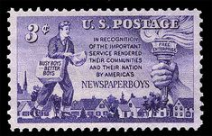 US Postage Stamps was 3 cents in 1952