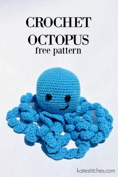 free octopus crochet pattern