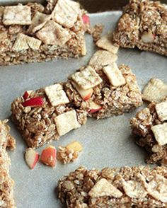 Apple Granola Bars.
