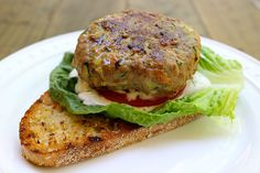Grilled Turkey Veggie Burgers