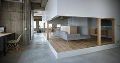 office design concrete - Google Search