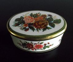 Small Oval Meister Tin Box Made In Brazil by SusansYardSale
