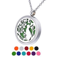 Cheap price HOUSWEETY Aromatherapy Essential Oil Diffuser Necklace-Stainless Steel Locket Refill Pads(Non-Engraving) deals week Essential Oil Diffuser, Essential Oils, Father's Day Deals, Diffuser Necklace, Aromatherapy, Pocket Watch, Fathers Day, Pendant Necklace, Accessories