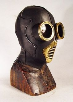 ɛïɜ Steampunk Leather Masks | Retronaut I ~ ɛïɜ