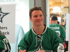 Dallas Stars Icebreaker 2014// Roussel // Photo by PNLT_BX // IMG_0408