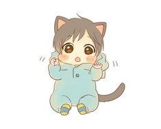 Read ♢ ▹♛◃ ♢ from the story ❄Yuuri's Gallery❄ by Yuuri--Katsuki (꧁ ♕ ꧂) with 405 reads. Anime Wolf, Anime Neko, Kawaii Anime, Chica Gato Neko Anime, Chibi Girl Drawings, Cute Drawings, Bebe Anime, Wolf Kids, Anime Siblings