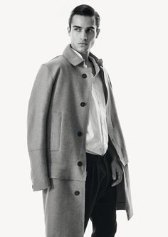 Boulezar Fall |Winter 2016 collection. No. 8. Inspired by Bauhaus.  Made in Germany. Coat: It Takes Two Pants: In The Midnight Hour