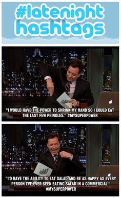 Jimmy reads your #MySuperPower tweets: http://www.youtube.com/watch?v=298hpO4JtLg&feature=c4-overview-vl&list=PLykzf464sU99HVFTMNPjNLWLqPSJAzEDN