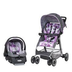 (car seat to stroller)Evenflo FlexLite Travel System, Lizette Best Baby Travel System, Travel Systems For Baby, Baby Girl Gear, Baby Girl Strollers, Best Car Seats, Car Seat And Stroller, Traveling With Baby, Baby Registry, Baby Items