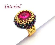 Tutorial Cronus Ring - via @Craftsy
