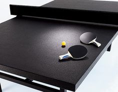 I'm in desperate need of improving my table tennis skills.. Maybe this $45,000 table can make me better...