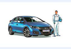 1000 images about car art illustration on pinterest car illustration porsche and. Black Bedroom Furniture Sets. Home Design Ideas