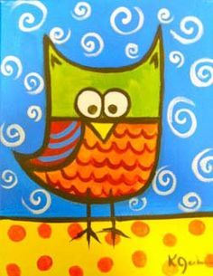 easy heart canvas painting easy painting ideas - Painting Images For Kids