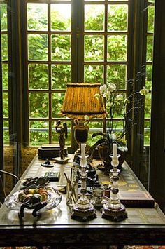 Isabelle and Hubert d'Ornano's flat in Paris