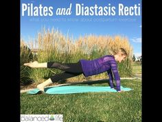 Diastasis Recti: at-home check and Pilates exercises to fix it - YouTube