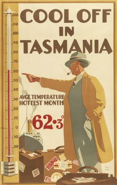 Cool Off in Tasmania by Harry Kelly ……re pinned by Maurie Daboux ♪ ♪