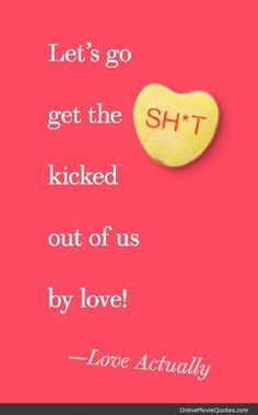 #Love Actually #movie #quote featured @ www.OnlineMovieQuotes.com