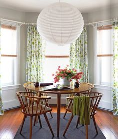 dining room curtains. Did it! Easy once you get over the indimidating fact that you have to sew and line several long yards of fabric.
