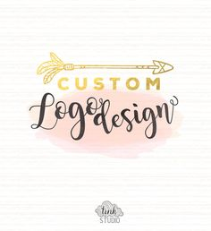 Custom Logo Design by TinkStudio on Etsy