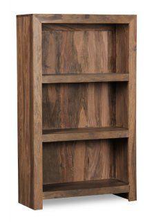 Cube Natural 3 Shelf Bookcase