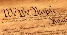 The purpose of the Constitution is to ground the government in the people's authority.