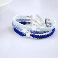 DIY Friendship Bracelet Tutorial - How to Braid Triple Paracord Bracelets