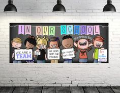 Browse educational resources created by INSPIRE ME studios in the official Teachers Pay Teachers store. Birthday Bulletin Boards, Classroom Banner, Back To School Bulletin Boards, Classroom Design, Classroom Themes, Classroom Organization, Future Classroom, First Grade Classroom, Kindergarten Classroom