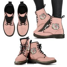 Honey Bee Handcrafted Boots - Women's Leather Boots US Converse Outfits, Boot Outfits, Girl Outfits, Vegan Boots, Mellow Yellow, Custom Shoes, Top Shoes, Models, Timberland Boots