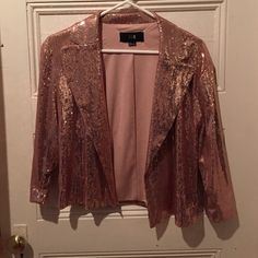 Selling this Forever 21 sequin blazer! in my Poshmark closet! My username is: nicmarie715. #shopmycloset #poshmark #fashion #shopping #style #forsale #Forever 21 #Jackets