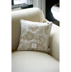 COUGHTON COURT AUSBRENNER PILLOW COVER FLAX 40X40