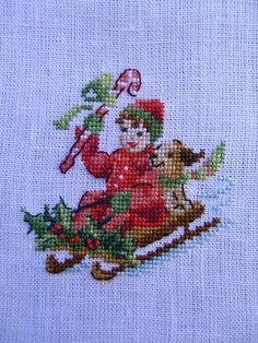 counted cross stitch tips Cross Stitch Christmas Ornaments, Xmas Cross Stitch, Cross Stitch Needles, Beaded Cross Stitch, Christmas Embroidery, Christmas Cross, Counted Cross Stitch Patterns, Cross Stitching, Cross Stitch Embroidery