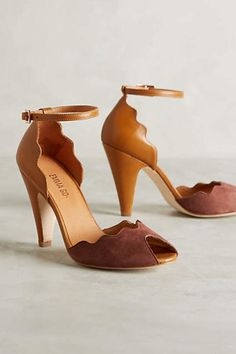 Shop unique high heels from Anthropologie for your essential pumps, kitten heels and more. Pretty Shoes, Beautiful Shoes, Cute Shoes, Me Too Shoes, Daily Shoes, Shoe Boots, Shoes Heels, High Shoes, Dress Shoes