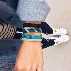 Stylish Boho Style Bracelets l Handmade Boho Bracelets Accessories Street Style Fashion Outfits Summer Summer Bracelets, Cute Bracelets, Gold Bracelets, Gold Earrings, Hippie Bracelets, Braided Bracelets, Ankle Bracelets, Star Earrings, Handmade Bracelets